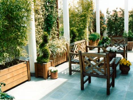 Un terrazzo di citt come un giardino gardendesign italia - Terrazzo giardino ...